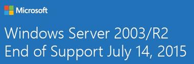 Migrare de la Windows Server 2003